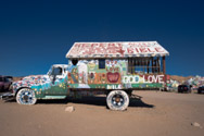 Truck of Leonard Knight, Creator of Salvation Mountain