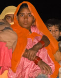 Young Woman at Pushkar Camel Fair, India
